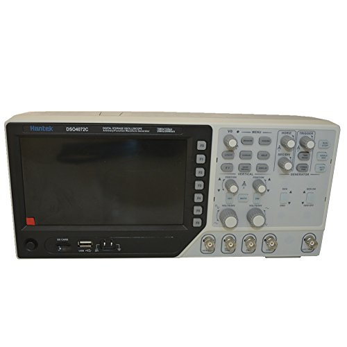 Hantek DSO4072C 2 Channel Digital Oscilloscope 1 Channel Arbitrary/Function Waveform Generator 70MHz 40K 1GS/s