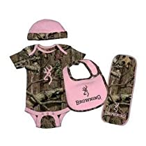 Browning Baby Camo Set - 4 Piece