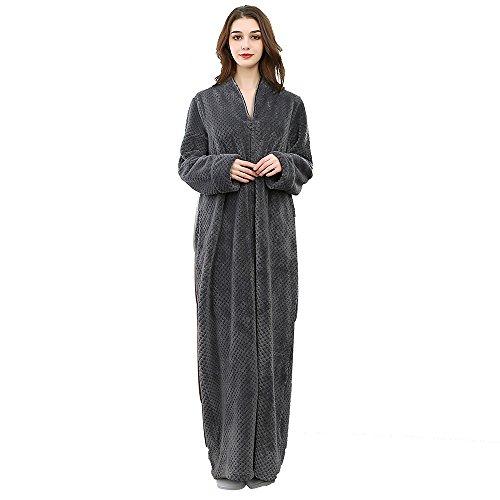 576baca2dc Jual Womens Fleece Warm Robe