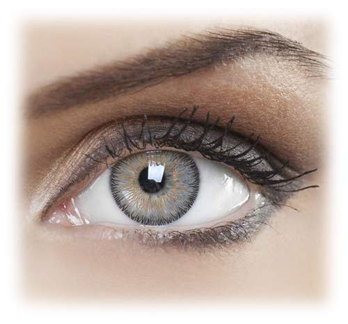 Women's Pair Eye Colored Contacts Change Eye Accessories Hazel Three (Contact Colored)