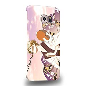 Case88 Premium Designs Natsume's Book of Friends Takashi Natsume 1632 Protective Snap-on Hard Back Case Cover for Samsung Galaxy S6 Edge (Not Normal S6 !)
