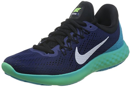 Nike Men Lunar Skyelux Running Shoe, Blue