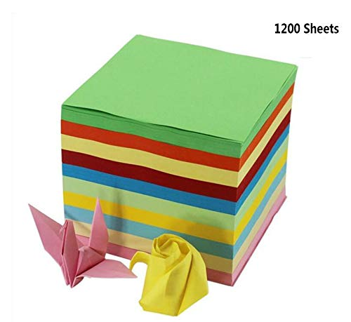 Fireboomoon 1200 Sheets Double Sided Origami Paper, 2 3/5 inches square (6.5 6.5 cm about 2 3/5 inches 2 3/5 inches) fruit fragrance.
