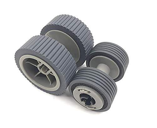 PrintNow PA03540-0001 PA03540-0002 Fujitsu Brake and Pick Roller Set Fi-6125 Fi-6225Fi-6130 Fi-6130z Fi-6140 Fi-6140Z Fi-6230 Fi-6240Z