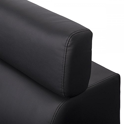 Corner Sofas Sets Leather Sectional Corner Sofa with Functional Armrest / Back R