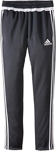 adidas Performance Tiro 15 Training Pant, X-Large, Dark Grey/White/Dark Shale