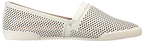 Frye Womens Perf Melanie Scivolare Sneaker Moda Bianco