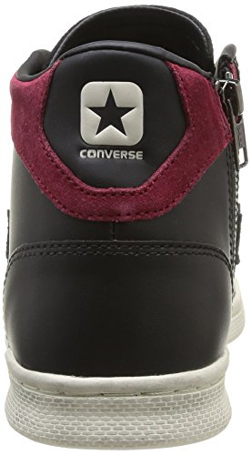 Lp Leather Black Pro Mid Unisex Converse charcoal Lth Z Sneaker Adulto T sue 65BRqxw