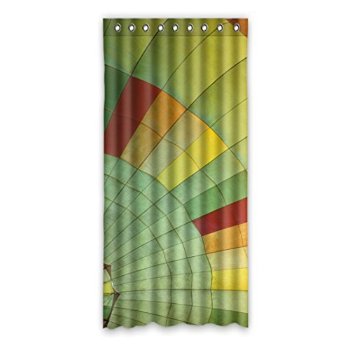 Custom Hot air balloon Window Curtain Polyester 51 x108 about 131cm x 175cm(one piece) ()