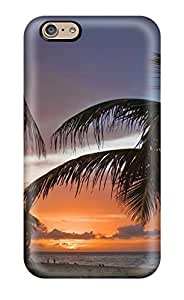 High Impact Dirt/shock Proof Case Cover For Iphone 6 (sunset Earth Nature Sunset)