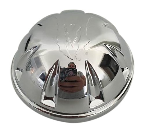 - Martin Bros Wheels PCW-M1 (Incubus) LG0604-14 Chrome Wheel Center Cap