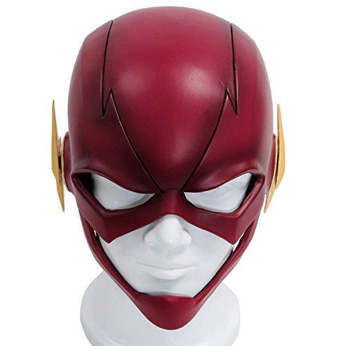Halloween Carnaval Masques Cosplay Casque PVC Rouge Tête Pleine Masque pour Adultes Jouets