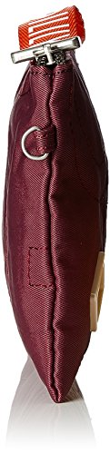 Oilily Spell Cosmeticpouch Mhz - Carteras de mano Mujer Rojo (Burgundy)