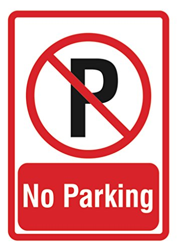 Amazoncom No Parking Sign Parking Lot Business Signs Office
