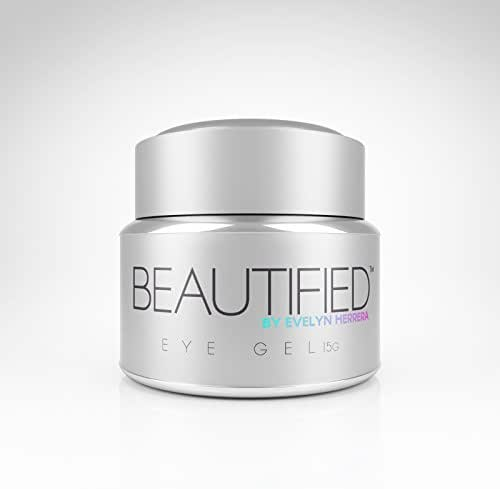 Eye Gel:Beautified by Evelyn Herrera. Eye Cream That Transforms Swollen Eyes, Dark Circles and Puffiness Into Beautified Eyes.