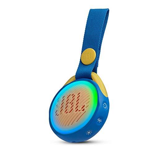 JBL JR POP Bluetooth스피커 IPX7방수/포터블/라이트 링 탑재 블루 JBLJRPOPBLU【국내 정규품/메이커1년 보증이 붙어 있음】