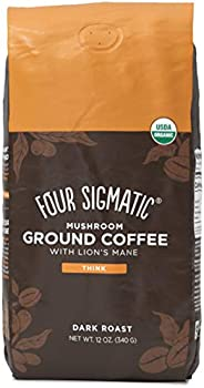Four Sigmatic Mushroom Ground Coffee, Lion's Mane, 12 O