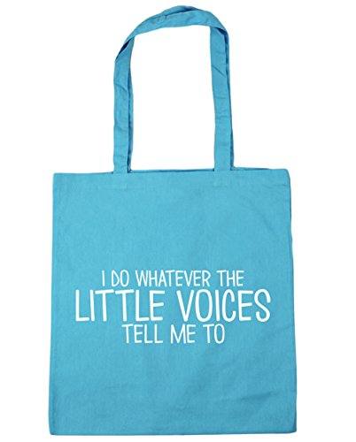 Whatever Shopping 42cm Beach The Do Surf I Little HippoWarehouse Me litres Gym Bag Tote Tell To Blue Voices 10 x38cm 7wv6qqE
