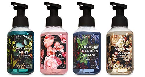 Bath and Body Works Harvest Gentle Foaming Hand Soap - Eucalyptus Mint, Rose Water Ivy, Blackberries and Basil, and Almond Blossom