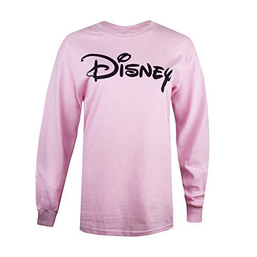 Disney PLAIN LOGO LONG SLEEVE TOP Dames Top met lange mouwen