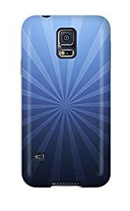 Hot Tpu Cover Case For Galaxy/ S5 Case Cover Skin - Blue Target