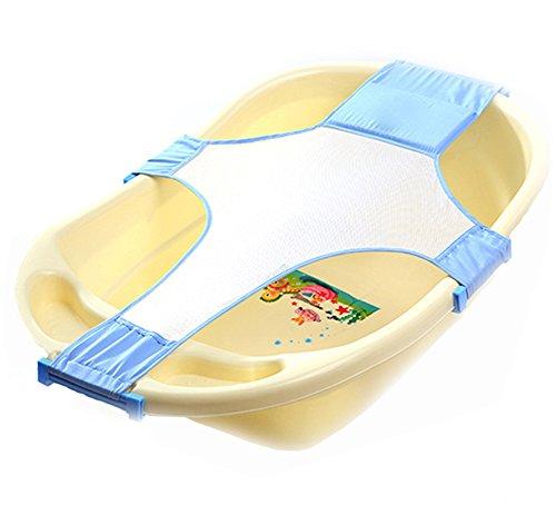 Baby Adjustable Bathing Net Seat (Blue) - 5