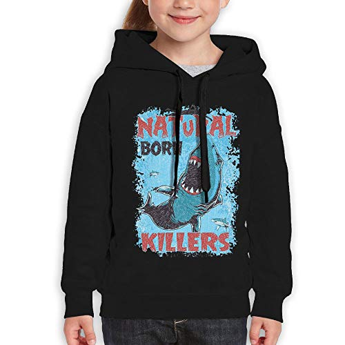 Yishuo Youth Limited Edition Friday Fashion Travel Hoody XL Black by Yishuo (Image #2)