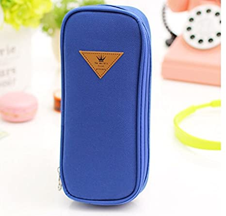 Amazon.com: coreano estilo Candy Color Breve estuche de lona ...