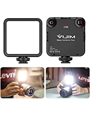 VL-81LED Video Light w Softbox, Portable Camera Photo Light CRI95+ 3200K-5600K Bi-Color 3000mAh Rechargeable Battery Dimmable Panel for DJI OSMO Mobile 3 Pocket Sony A6400 6500 GoPro 8 7 6 5 Vlogging