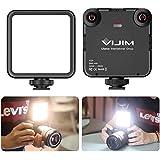 VL-81 Luz LED para video con caja de luz, cámara portátil Luz fotográfica CRI95 + 3200K-5600K Panel regulable de batería recargable bicolor de 3000 mAh para DJI OSMO Mobile 3 Pocket Sony A6400 6500 GoPro 8 7 6 5 Vlogging