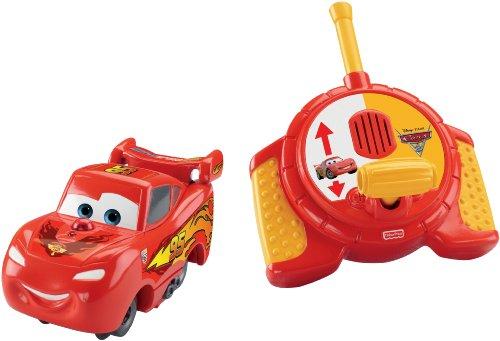 Fisher-Price GeoTrax Disney/Pixar Cars 2 RC Lightning McQueen (Disney Geotrax Cars Pixar)