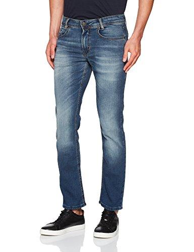 Authentic Wash MAC Hombre para Blue H786 Jeans Vaqueros Azul Rectos Jog'n Grey q7rOqZgz