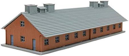 Outland Models Railroad Scenery Military Barrack 167mm Long Z Scale 1:220