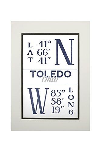 Toledo, Ohio - Latitude and Longitude