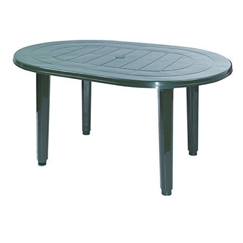 Garden Life Table–Oval 130x 904020V Green 4020V