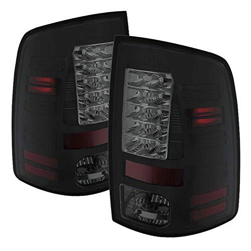 (Spyder Auto 5078124 LED Tail Lights Black/Smoked)