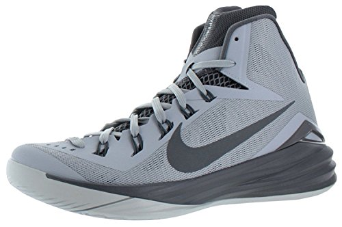 Nike Hyperdunk 2014 Mens Hightop Basketball Sneakers Gray Size 10.5, Wolf Grey/Dark Grey/Pure Platinum, 44.5 D(M) EU/9.5 D(M) UK