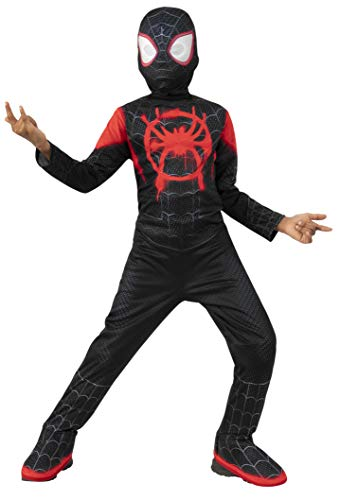 Ultimate Spiderman Miles Morales Costumes - Spider-Man: Into The Spider-Verse Child's Mile