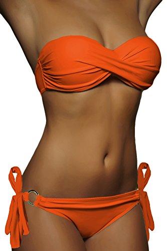 Costume up Up Orecchie Push Scelta Arancione Donna da Fascia Alzora ornamento push da bagno Bikini 10227 Sw8qnO