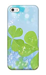 Iphone 5/5s MWShsbL5085CIECi Happy St Patrick??s Day Tpu Silicone Gel Case Cover. Fits Iphone 5/5s
