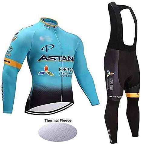 Wulibike Conjunto Bicicleta Largo Hombre Traje Btt Invierno Ropa ...