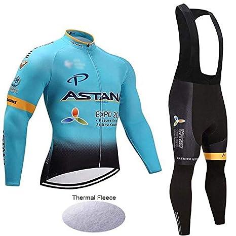 Wulibike Conjunto Bicicleta Largo Hombre Traje Btt Invierno Ropa Ciclismo Equipos Profesionales