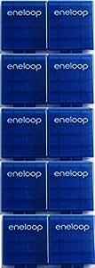 Sanyo eneloop Battery Storage Case x 10