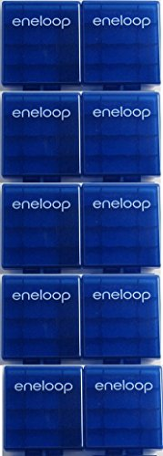 Sanyo eneloop Battery Storage Case x 10