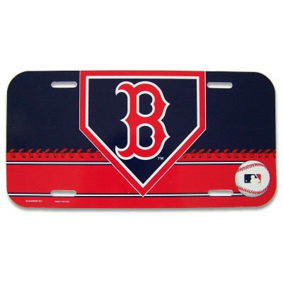 Wincraft MLB Boston Red Sox 86901515 License Plate