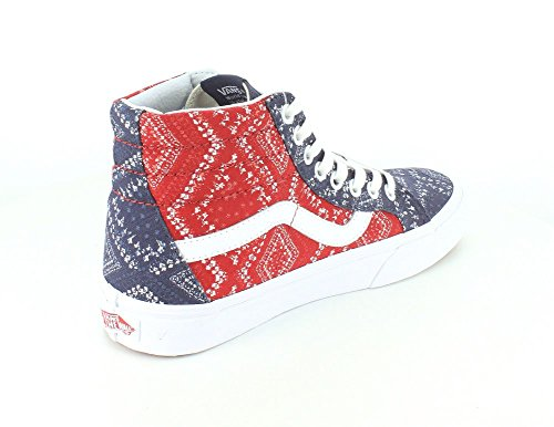 Vans Herren Sk8-Hi Hightop Sneaker Chili Pepper/Parisian Night