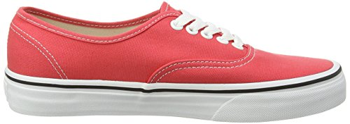 Vans Authentic, Zapatillas de skateboarding Unisex Rojo (Cayenne/True White)