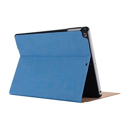 inShang 9.7 inch iPad (2017) Fundas soporte y carcasa para Apple 9.7 inch iPad (2017) ( , smart cover PU Funda ,art style light blue