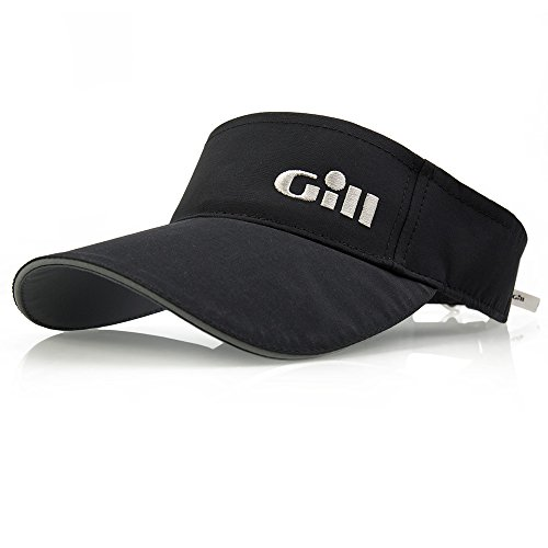 2018 GILL Regatta Visor BLACK 145