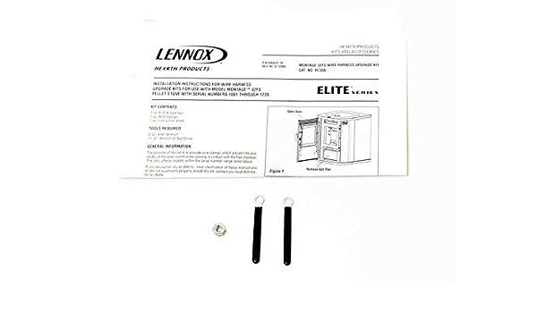amazon com: ihp oem - wiring harness upgrade kit for lennox montage 32fs pellet  stoves(h7356) - original oem part: home & kitchen